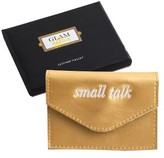 Rosanna Women's Small Talk Leather Card Holder - Metallic