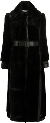 Stella McCartney Button-Front Oversized Coat