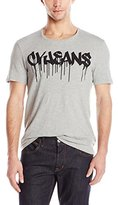Calvin Klein Jeans Men's Short Sleeve Logo Crew Neck Tee Shirt