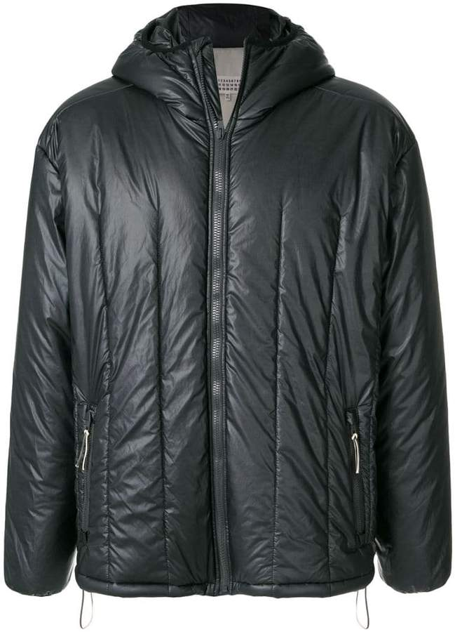 Maison Margiela quilted hooded jacket