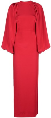 ADAM by Adam Lippes wide-sleeve fitted dress
