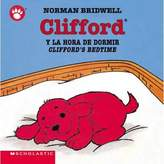 "Scholastic Clifford's Bedtime""/""Clifford y la Hora de Dormir"" by Norman Bridwell (English/Spanish)"