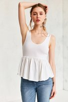 Truly Madly Deeply Annabella Peplum Tank Top