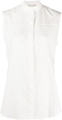 Alyx Sleeveless Band-Collar Shirt