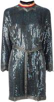 Diesel sequin embellished dress - women - Polyester/plastic/glass - XS
