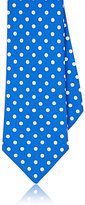 Isaia MEN'S POLKA DOT SILK NECKTIE