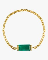 Yi Collection Emerald Baguette Chain Ring