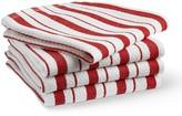 Williams-Sonoma Williams Sonoma Classic Striped Dishcloths, Flame