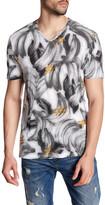Antony Morato Printed V-Neck Shirt