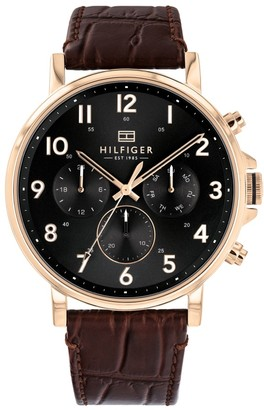 Tommy Hilfiger Daniel Chronograph Watch Brown