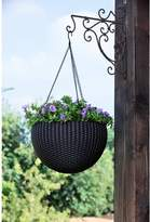 Keter Round Plastic Hanging Planter