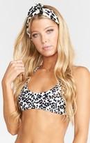 MUMU Surf Side Scoop Bra Bikini Top ~ Blushing Kitty
