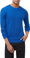 Jaeger Cotton Straw Jacquard Jumper