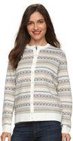 Croft & Barrow Women's Cozy Essential Cardigan Sweater