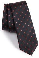 Paul Smith Skinny Star Silk Jacquard Tie