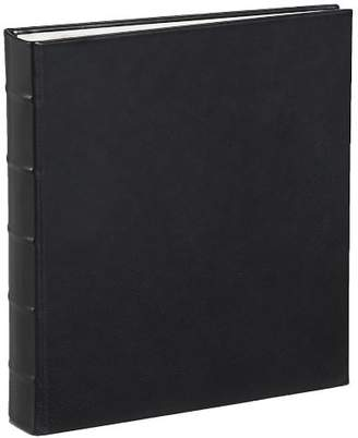 Pottery Barn Leather Bound Clear Pocket Photo Albums