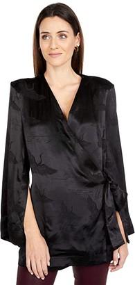Sabina Musayev Matteo Jacket (Black) Women's Clothing