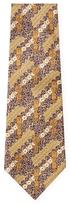Vintage Gold Totem Silk Tie