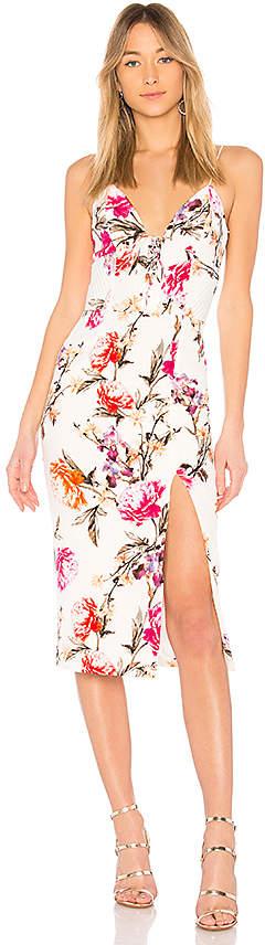 Nicholas Lucile Floral Corset Bra Dress