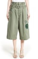 Marc Jacobs Women's Cotton Sateen Cargo Shorts