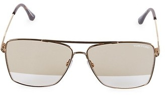 Tom Ford 60MM Square Sunglasses