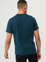 Barbour International Panel Logo T-Shirt - Pine Green