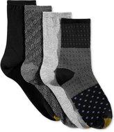 Gold Toe Women's 4-Pk. Vatican Texture Socks