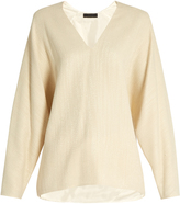 The Row Wilden dolman-sleeved top