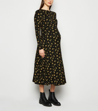 New Look Maternity Floral Empire Waist Dress