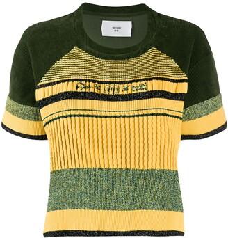 Quetsche short-sleeve striped T-Shirt