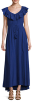 Calypso St. Barth Troylu Drawstring Maxi Dress
