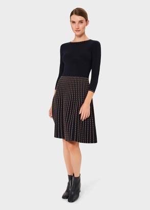 Hobbs Nyla Knitted Dress