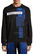 Versace Cotton Graphic Sweater