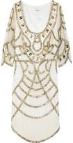 Sequin-embellished top