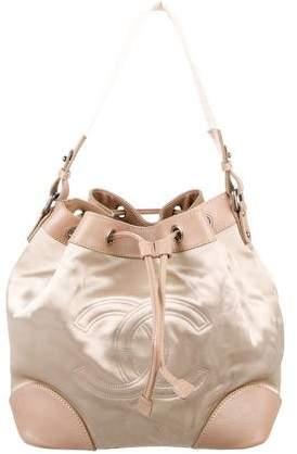 Chanel Satin CC Bucket Bag