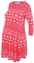 George Maternity Printed Dress
