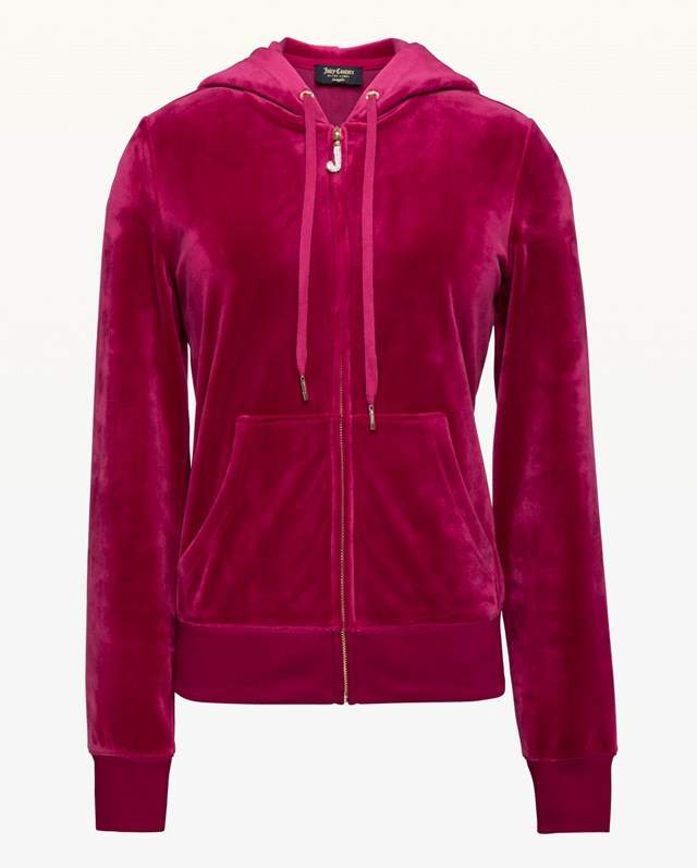 Juicy Couture Ultra Luxe Velour Robertson Jacket