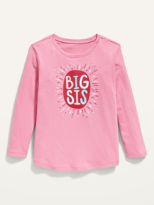 Old Navy Long-Sleeve Graphic Tee for Toddler Girls