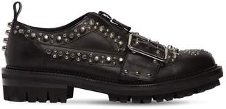 DSQUARED2 Studs Leather Lace-up Shoes