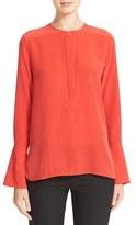 Equipment Women's Kenley Bell Cuff Silk Blouse