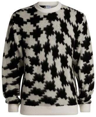 Marcelo Burlon County of Milan Knitted Cross Sweater