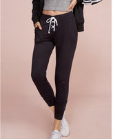 Express one eleven lace-up front jogger pant