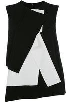 Enfold contrast folds top
