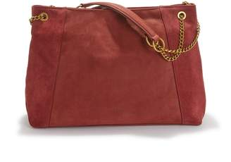 Nat & Nin Hortense Suede and Leather Handbag