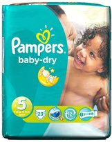 Pampers Baby Dry Size 5 Junior 11-25kg