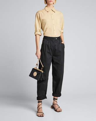 Nili Lotan Kelsey Oversized Poplin Shirt