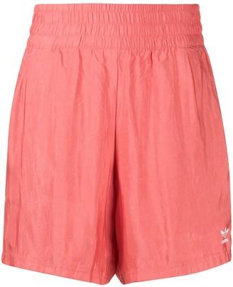 adidas Logo Satin Shorts