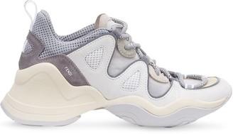 Fendi FFluid panelled sneakers