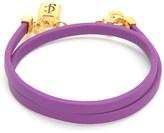 Juicy Couture Jc Padlock Double Wrap Bracelet