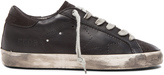 Golden Goose Deluxe Brand Superstar Low Top Leather Sneakers